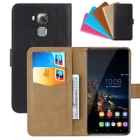 luxury wallet case for oukitel u16 max pu leather retro flip cover magnetic fashion cases strap