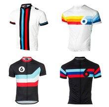 Retro Cycling Jersey Twin Six 6 funny men Road Mtb Cycling shirt Bicycle Short sleeve Maillot Ciclismo Bike sportswear clothing