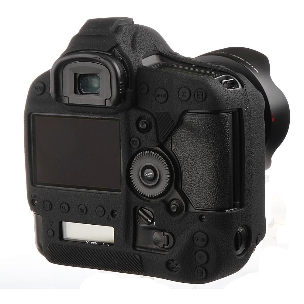 غطاء واقي للكاميرا من مطاط السيليكون الناعم عالي الجودة ، غطاء واقي للكاميرا Canon 1Dx 1DX II III 1DXII