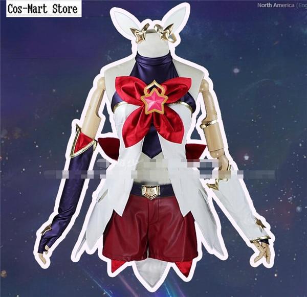 Jeu chaud LOL Jinx Cosplay AnimeLOL Star du gardien de la fille magique déguisement Cosplay