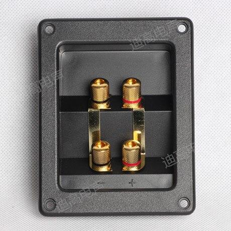 Orador coluna caixa de junção diy acessórios de áudio trepanned 9 para 3 m medição m74mm 4 JB/Frete Grátis