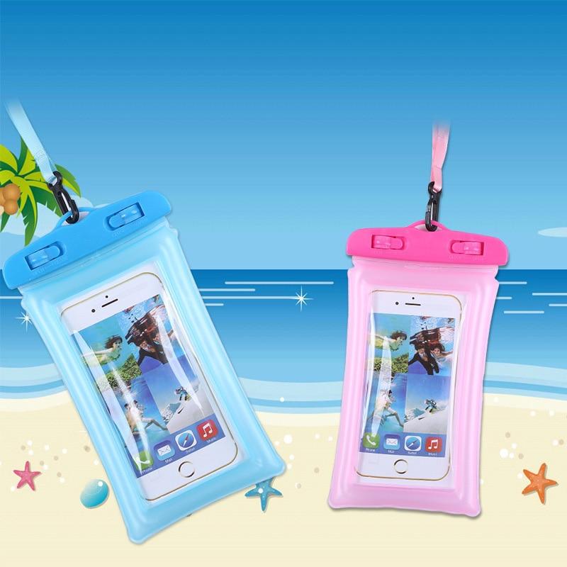 Bolsa de aire flotante impermeable para Motorola Moto X Play XT1562 caja del teléfono Universal BOLSA DE BUCEO seco