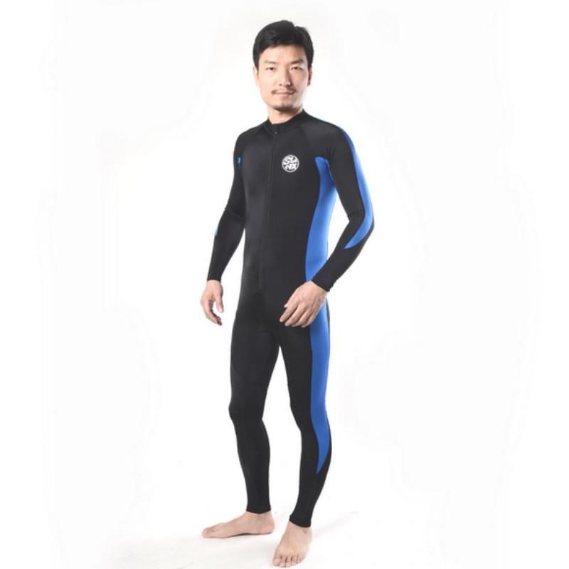 2017 Men  Surfing Snorkeling Swimming Rashguard Lycra Dive Skin Basic Wetsuit Full Body Diving Suit Swimwear Wetsuit
