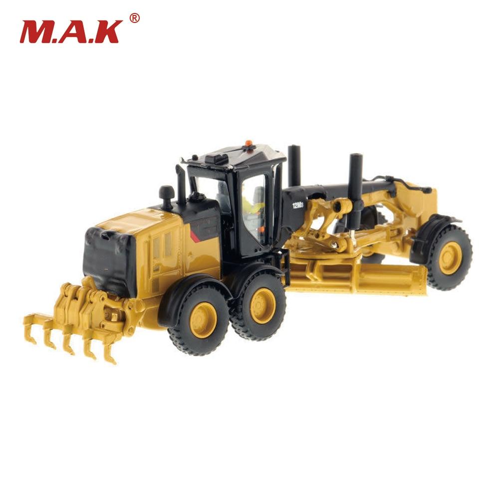 collection diecast model car DM 1:87 scale 12M3 motor grader-high line series 85520 truck model kids children toys gifts enlarge