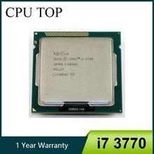 Процессор intel Core i7 3770 3,4 ГГц SR0PK четырехъядерный процессор LGA 1155