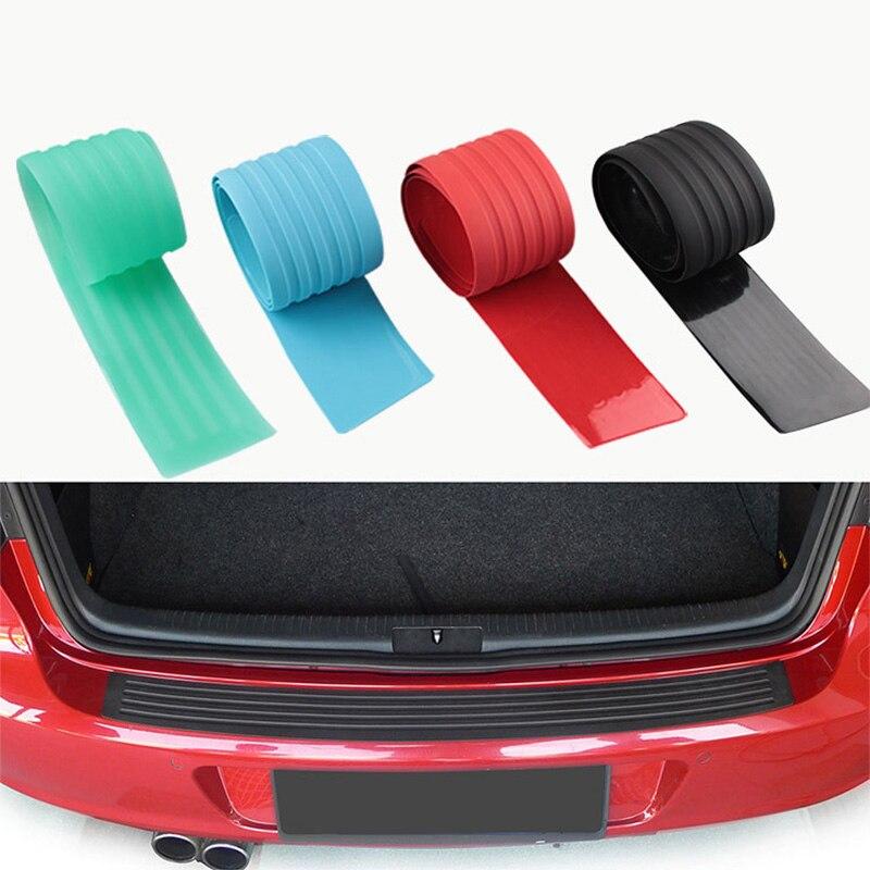 Tira de protección para puerta de maletero de coche protección contra choques banda de protección antiarañazos Universal para camión SUV de 41 pulgadas
