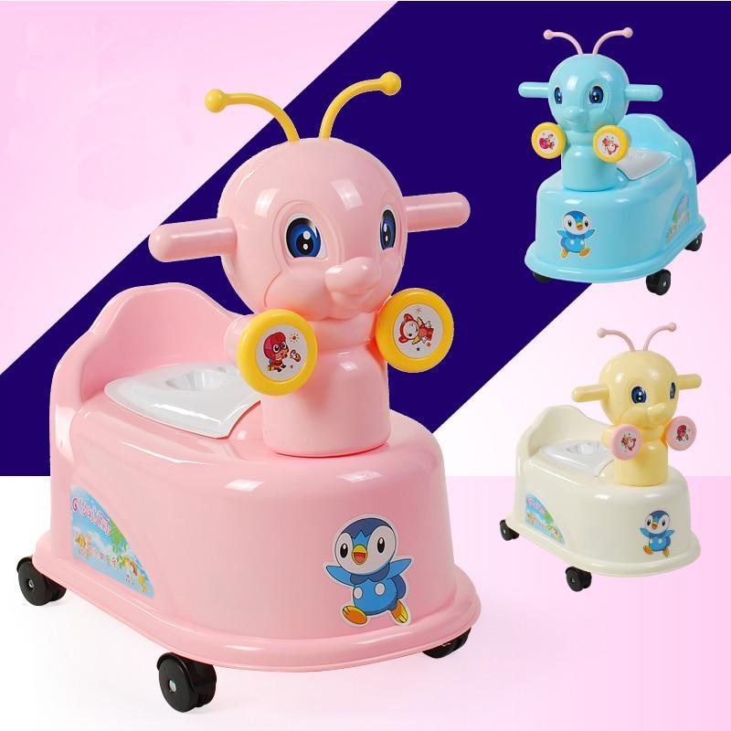 Orinal Musical de abeja encantador para bebé, orinal para niños, orinal para bebé, orinal portátil para viaje, orinal, asiento de inodoro para zapatilla para niños, asiento de inodoro