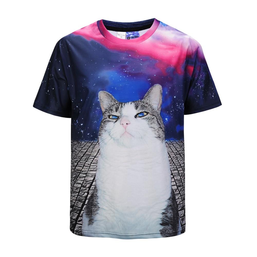 Mr.1991INC Roaring Saber-Tigre dentado impreso 3D camiseta hombres mujeres Hip Hop camiseta hombres pantalón corto casual manga camisetas