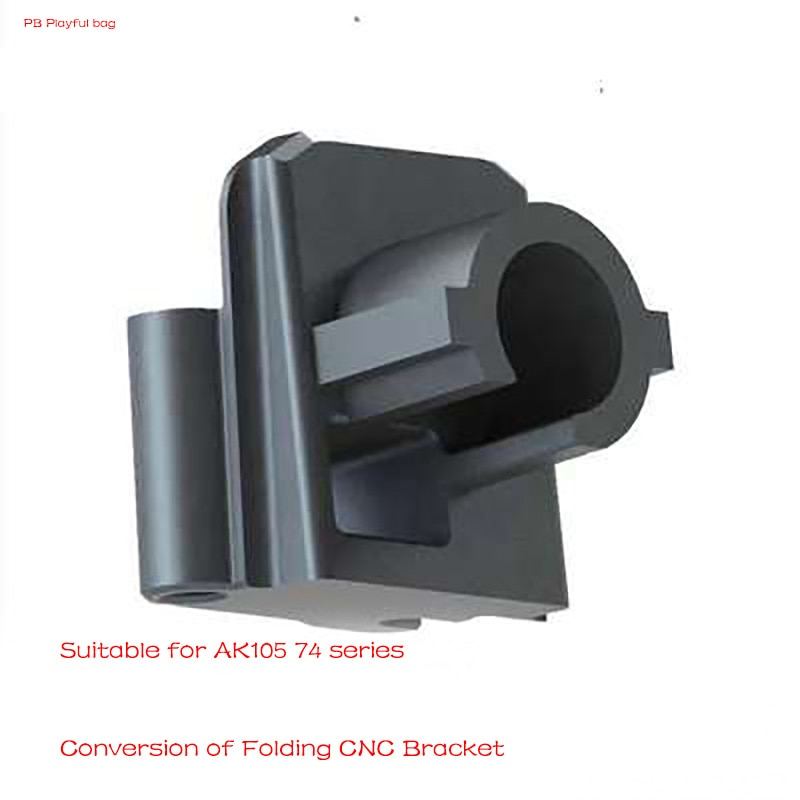 Movimiento táctico al aire libre AK105 74M plegable CNCbutt núcleo transferencia pistola de bola de gel actualización material accesorios D43