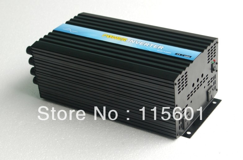 El proveedor vende 3000 W/3KW 48 V DC 220 V AC Solar Micro inversor un año de garantía, de Aliexpress Suzhou, China