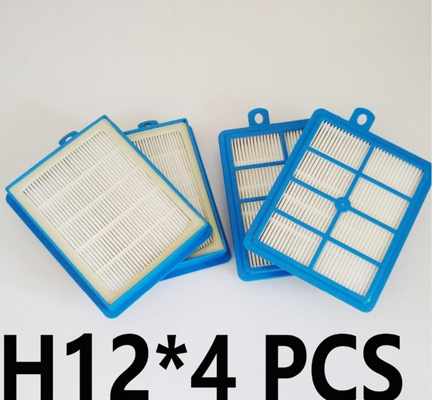 4 Uds H13 H12 S-FILTER filtro Hepa FILTRO DE ELECTROLUX AEG para PHILIPS 9001677682 FC9150-FC9199 FC9071 FC8038 FC9174 FC9150 FC9170