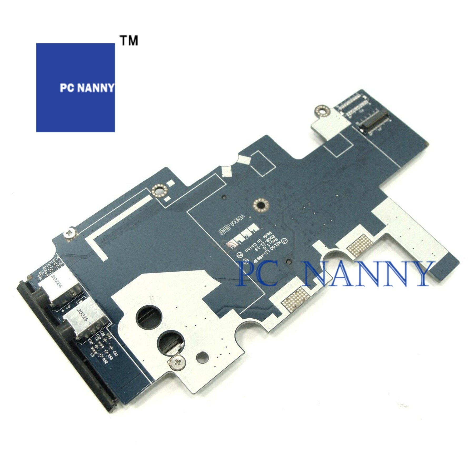 PCNANNY для HP 6440B 6540B 6455B 6545B Подлинная аудио/кард-ридер плата LS-4893P тест хорошее
