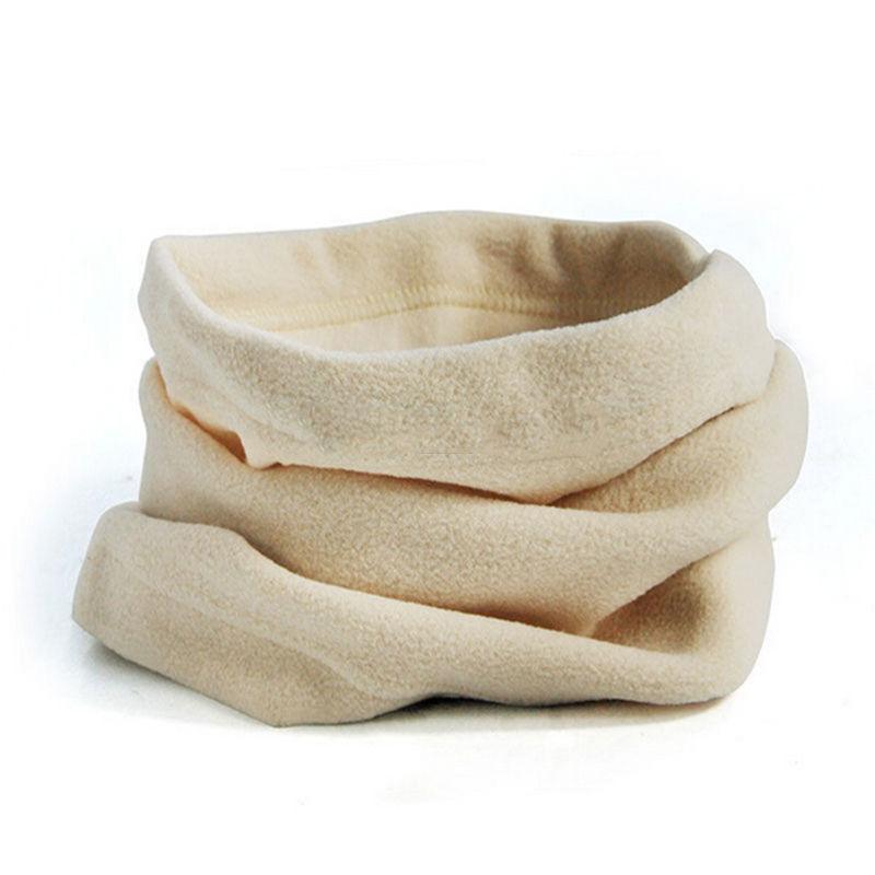 Multifunctional 3 in 1 Scarf Thermal Warm Fleece Snood Scarf Neck Warmer Unisex Men Women Beanie Ski Balaclava Hat