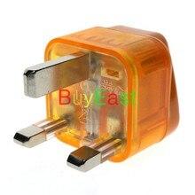 2 X Wonpro UK, Singapur, Hong Kong, Malasia, Brunei UAE adaptador de viaje Tipo G Plug con protector contra sobretensiones