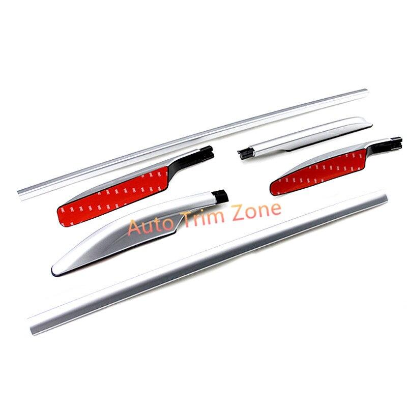 Barras laterales para portaequipajes, barras de aleación de aluminio para nissan Rogue x-trail 2014-2017