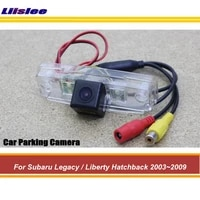 car reverse rearview parking camera for subaru legacyliberty hatchback 2003 2009 rear back view hd ccd cam