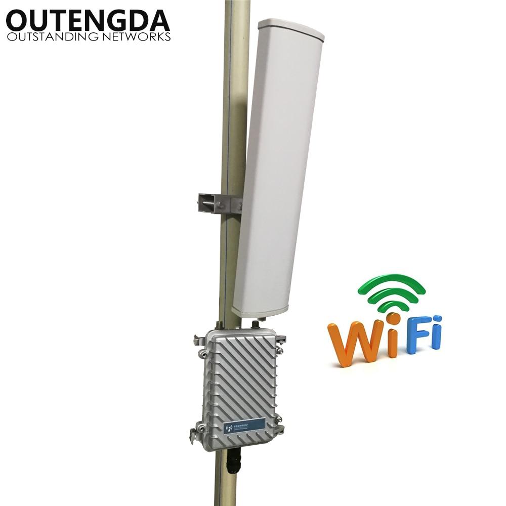 راوتر لاسلكي خارجي ، 2.4 جيجاهرتز ، 300 ميجابت في الثانية ، AP ، نقطة وصول WiFi ، محطة قاعدة ، جهاز إرسال Wifi ، موسع مع 14 ديسيبل ، ANT ، بعيد المدى ، 400 مت...