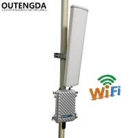 2 4ghz 300mbs wireless router outdoor ap wifi hotspot base station wifi transmitter extender with 14dbi ant long range 400meters