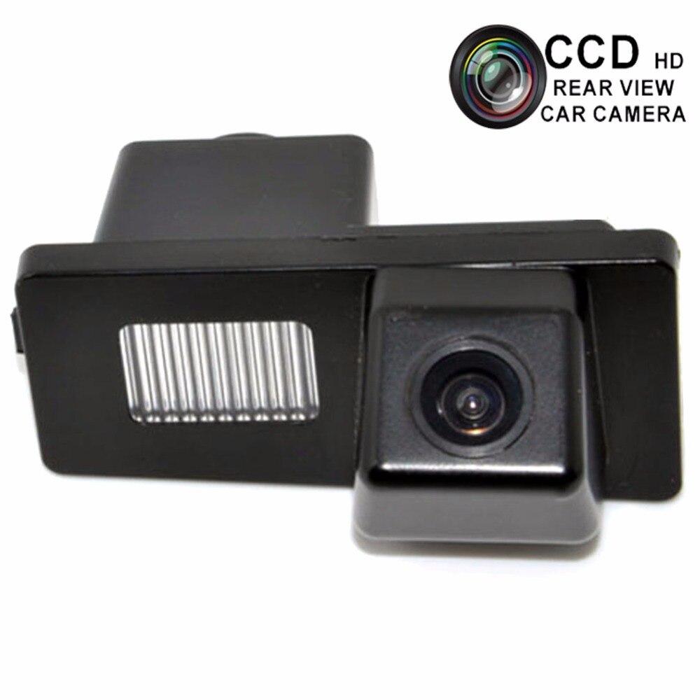 Cámara de visión trasera de marcha atrás del coche para Ssangyong Actyon Rexton Kyron Parking Vihicle cámara de respaldo CCD lente