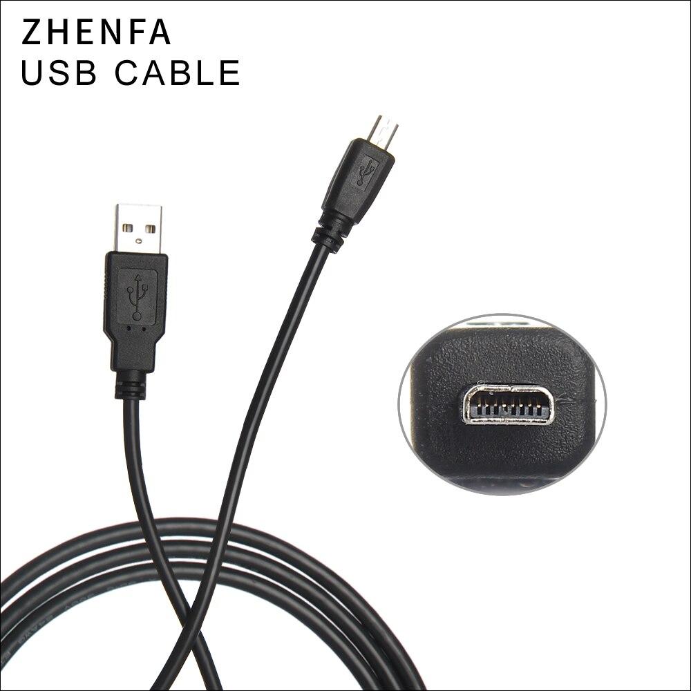 Zhenfa cámara USB de la batería DC Cable de datos de carga de Cable para Olympus VG-160 VG160 VG-120 VG-140 VG-130 VG-170 VR-310 FE-370 T-100