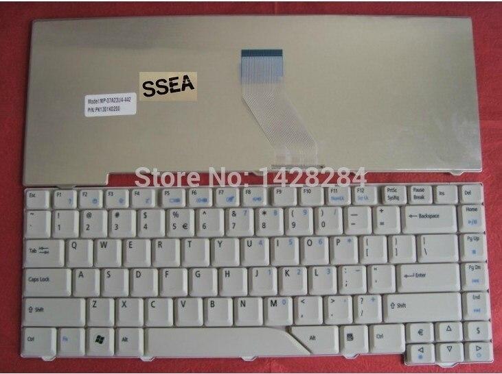 SSEA envío gratis nuevo teclado de EE.UU. para Acer Aspire 4710 4720G 4720z 4720ZG 4920G 5315G 5320 de 5520G 5710G 5710Z 5235 de 5535 a 5910