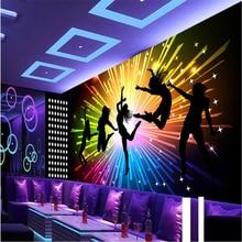 beibehang papel de parede listrado Customize any size mural dazzling fireworks KTV tooling backdrop fototapeten 3d natur