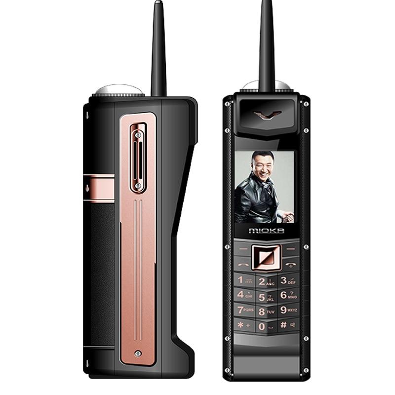 Большой ретро мобильный телефон роскошный классический с антенной внешний аккумулятор 5400 мАч долгий режим ожидания голосовой смены SOS цифе...