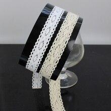 Tresse dentelle de coton accessoires couture   60yards1.8cm tresse, Patchwork couture accessoires vêtements bord décoration vêtement 498