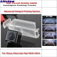 intelligentized car rear reverse for chevy chevrolet sail 201022013 2014 hd dynamic trajectory parking back up camera