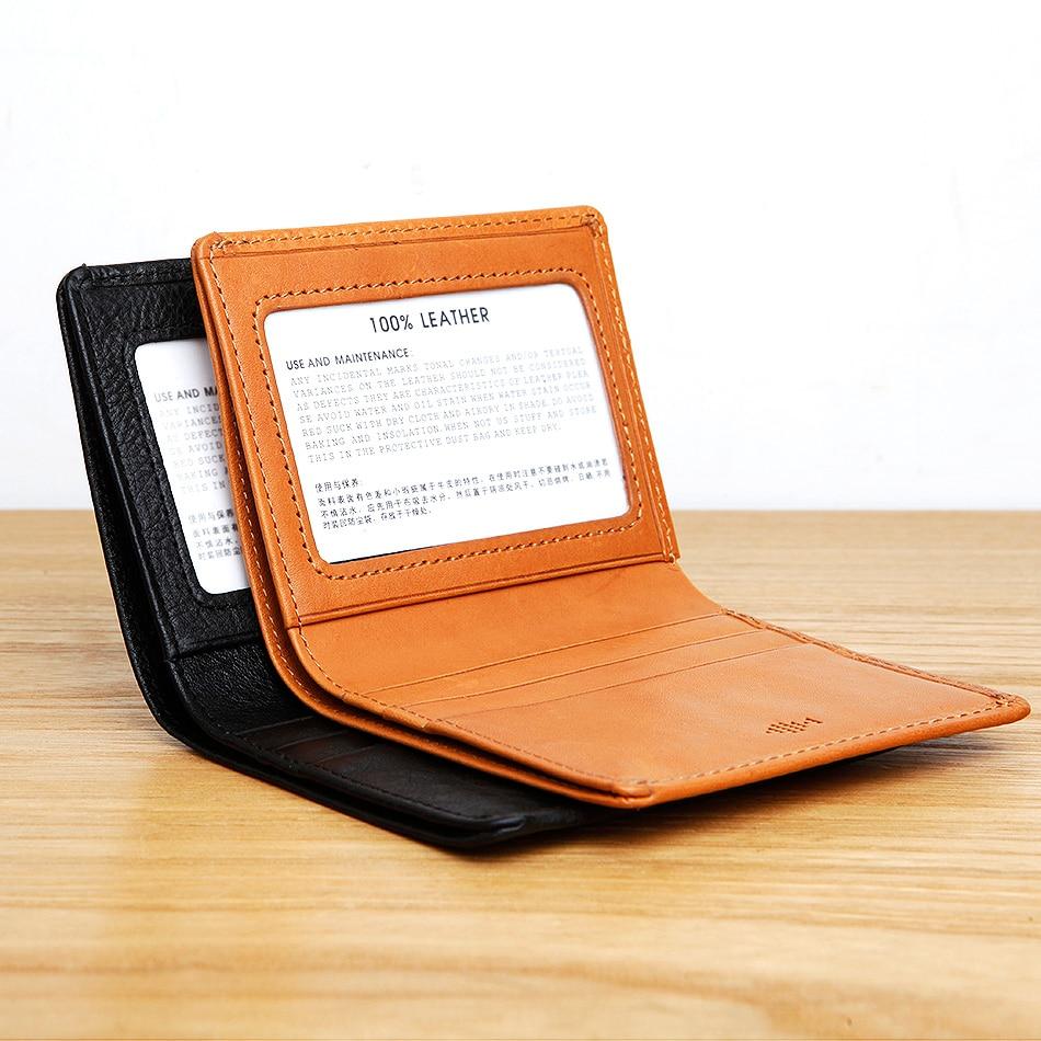 Кожаные мужские кошельки LANSPACE, брендовый Повседневный Карманный Кошелек, оригинальный дизайнерский кошелек