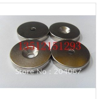 60X10 ímã-10 buraco poderoso ímã de NdFeB 60*10 d 60mm x 10mm + hole10mm forte ímã ímã ímã permanente 2 pçs/lote