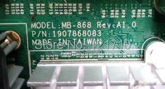 Conseil déquipement industriel MB-868 REV A1.0 1907868083