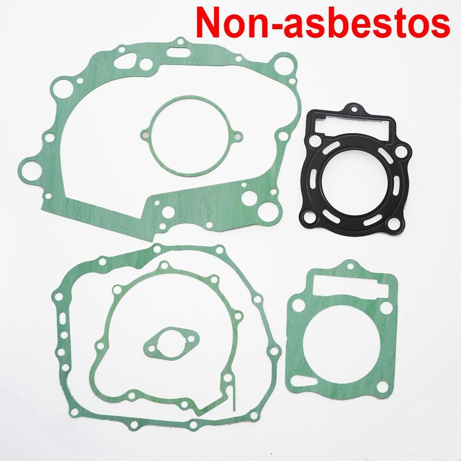 Kit de juntas sin asbesto para LC172MM LX170MM Loncin CB250 250 cc motor refrigerado por agua Mikilon BSE Jinling XMOTO ATV Dirt Bike