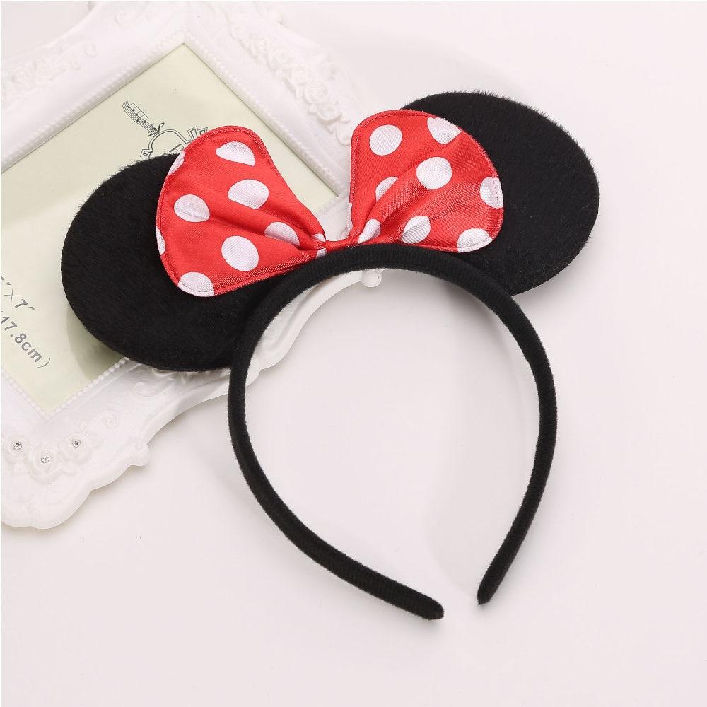 1 diadema para niños de Halloween, Navidad, Día de los niños, niña, Minnie, Mickey, diadema, diadema, lazo para niñas