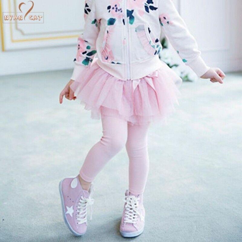 Clear!! Drop ship Toddler Kids Little Girl's Tutu Skirt Leggings Children Wear baby girls clothes Princess christmas Tiers Pants