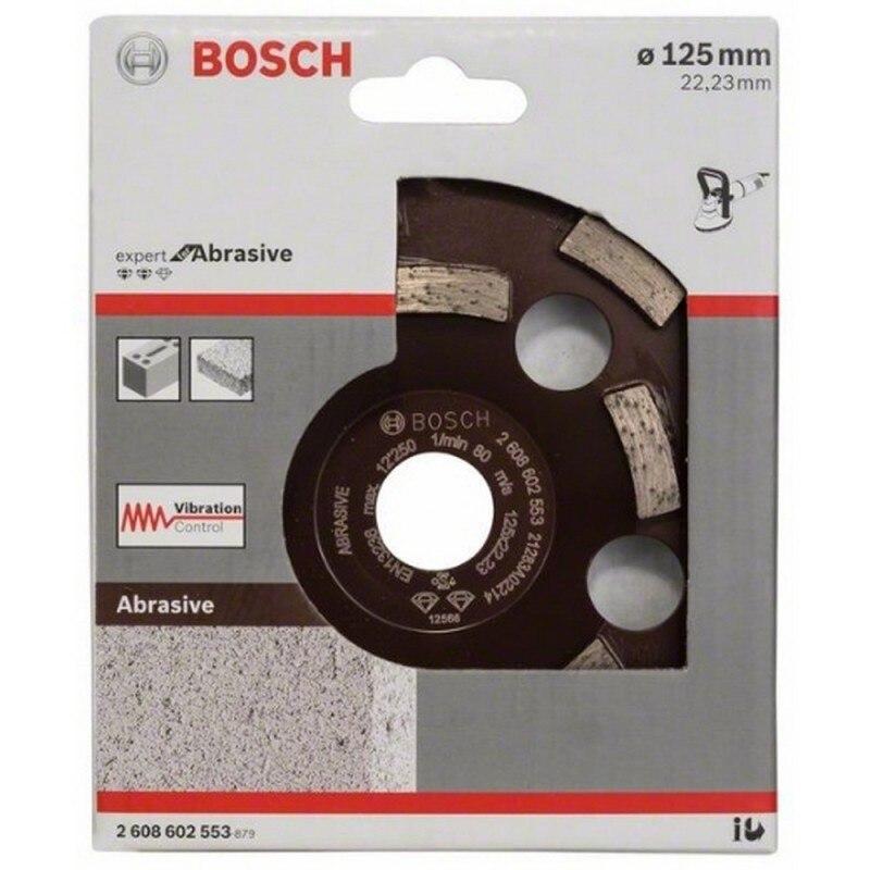 BOSCH 2608602553 Vaso diamante Expert Abrasive 125x22,23x4,5