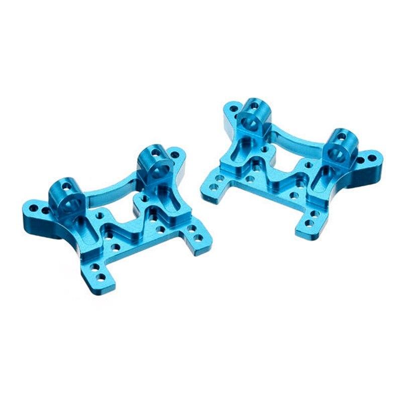 2 unids/lote WLtoys A949-09 metal amortiguador trasero y delantero amortiguador de placa para RC coche de 1/18 A949 A959 A969 A979 K929 A959/A969/A979/K929-B