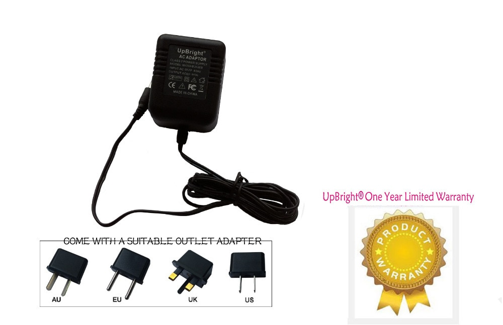 UpBright nuevo adaptador de AC-AC para DigiTech RP500 RP 500 RP1000 RP 1000 efectos múltiples Pedal cargador de fuente de alimentación
