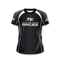 Isle of Man TT Racing T-shirt Stylish Motorcycle Knight Glory T Shirts Mtb Bmx MX DH Motocross Short Jersey
