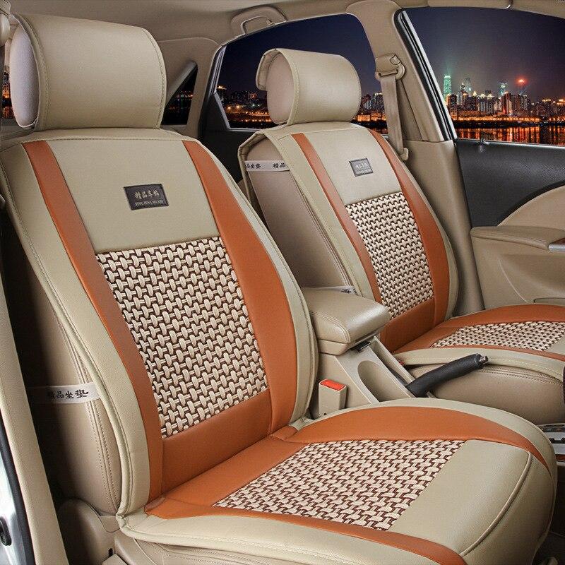 Buena calidad Universal alfombrilla para asiento de coche para MITSUBISHI ASX Eclipse 308 roadster Cruz Grandis Montero lancer evo Lancer serie