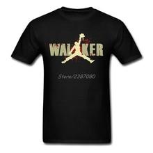 The Walking Dead T Shirt Short Sleeve T-shirt Men 2020 Hot Tv 3XL Cotton Crewneck  Clothes For Men