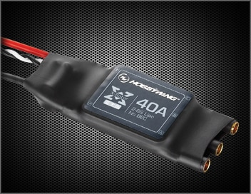 Controlador sem escova esc 20a 40a 2-6s da velocidade de hobbywing xrotor opto para multi copters