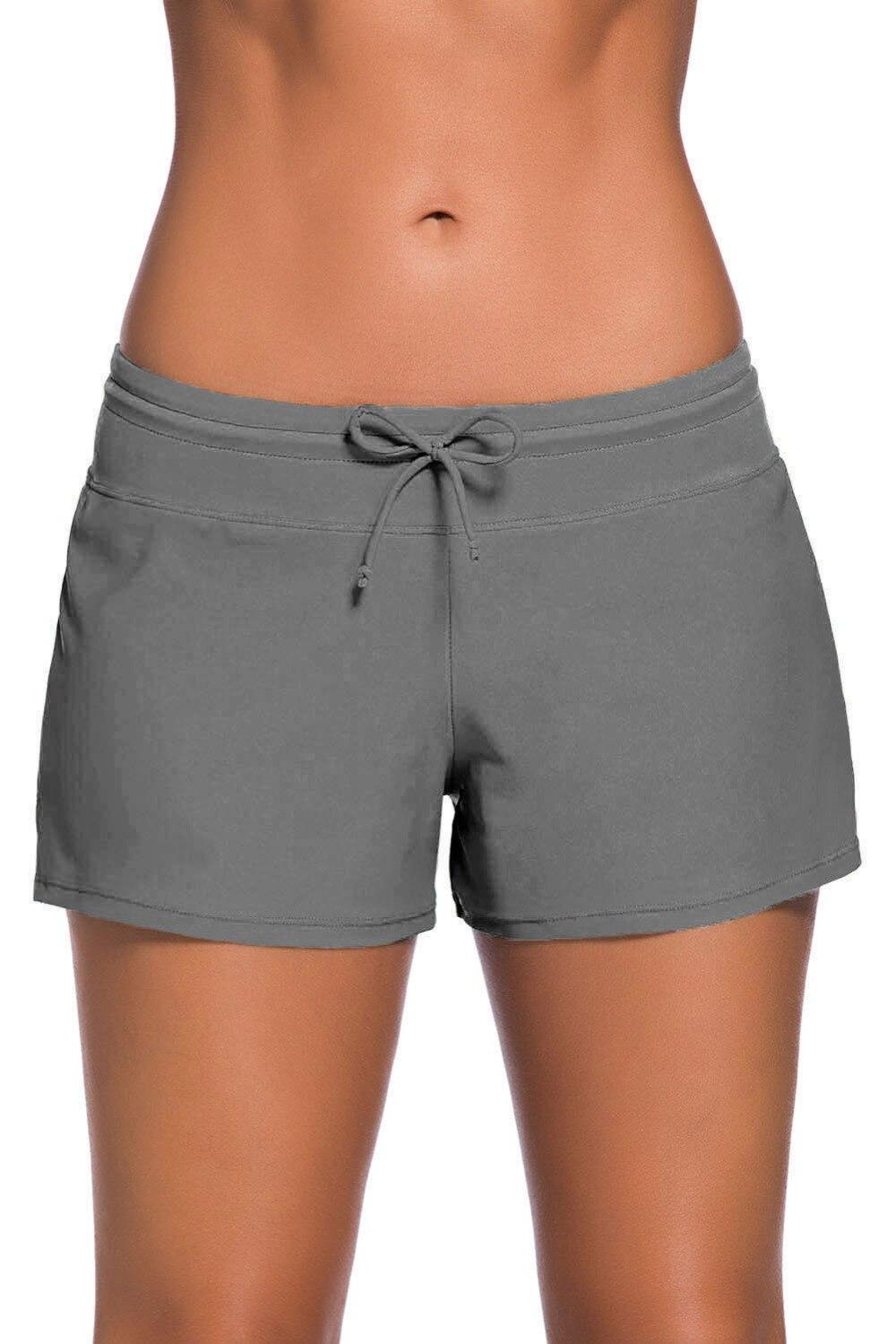 Boardshorts Mulheres-Sexy Bikini Bottoms Maiô Shorts Da Praia do Verão Calças Esportivas Respirável Roupa Interior Das Mulheres Cuecas Boxer