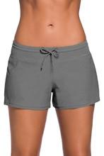 Boardshorts Women - Sexy Bikini Swimsuit Bottoms Summer Beach Shorts Sport Trousers  Breathable Womens Underwear Boxer Briefs