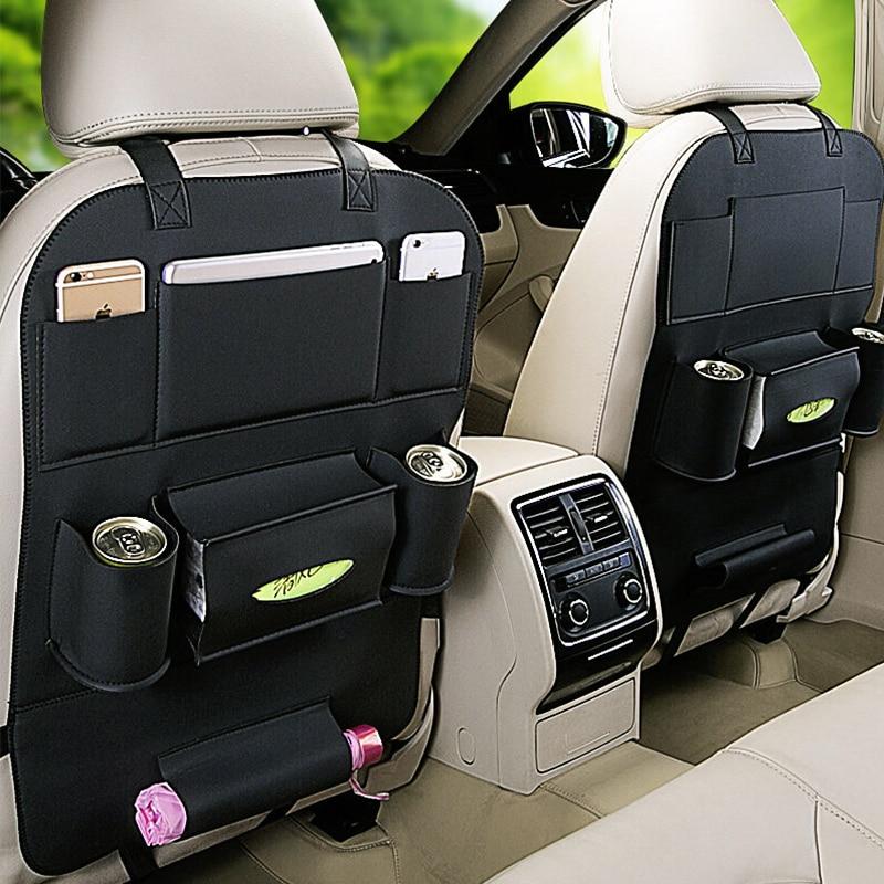 Para Hyundai Accent Solaris IX35 I30 I20 Getz Sonata Tucson Elantra Santa I40 I10 Tiburon Auto Assento Saco De Armazenamento De Volta sacos pendurados