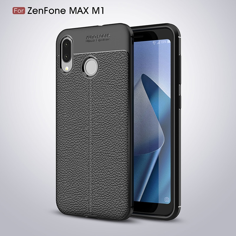 Para asus zenfone max m1 zb5555kl ultra-fino tpu design casos para asus zenfone max m1 zb555 kl zb 555kl x00pd caso