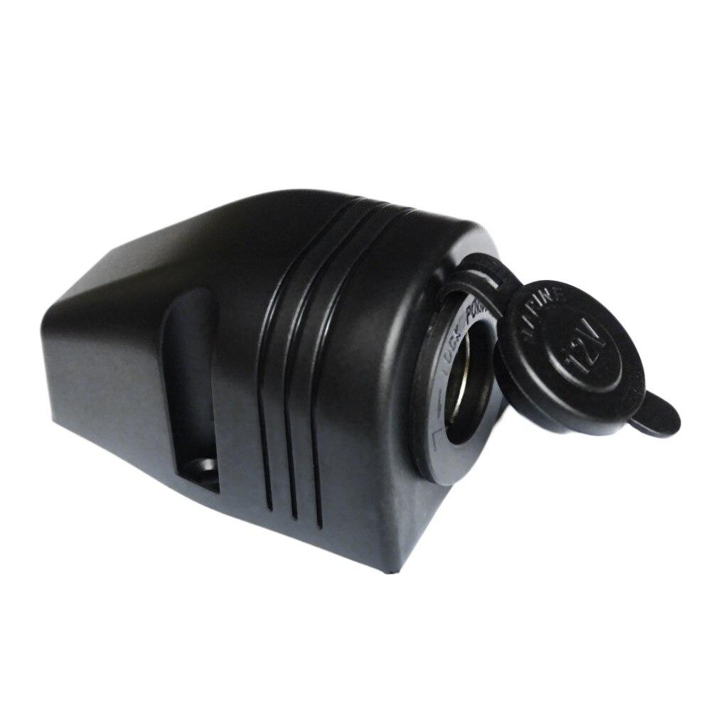 Divisor de encendedor de cigarrillos de coche 12/24V Salida de barco marino caravana adaptador de enchufe conector nuevo envío directo