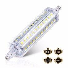 R7S Led lamba 78mm 2835 Led floresan lamba 220V Led ampul ışık 118mm 135mm 189mm 5W 10W 12W 15W yüksek lümen R7S Tubo Lampada 85-265V