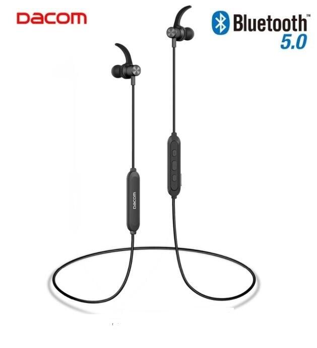 DACOM L15 Bluetooth V5.0 auricular inalámbrico de deporte auriculares Bluetooth 10H música magnético auriculares con micrófono