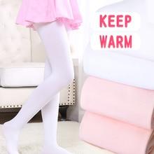Winter Ballet Dance Stockings Thick Girls Kids Dance Tights Ballet Warm Seamless Pantyhose 800D